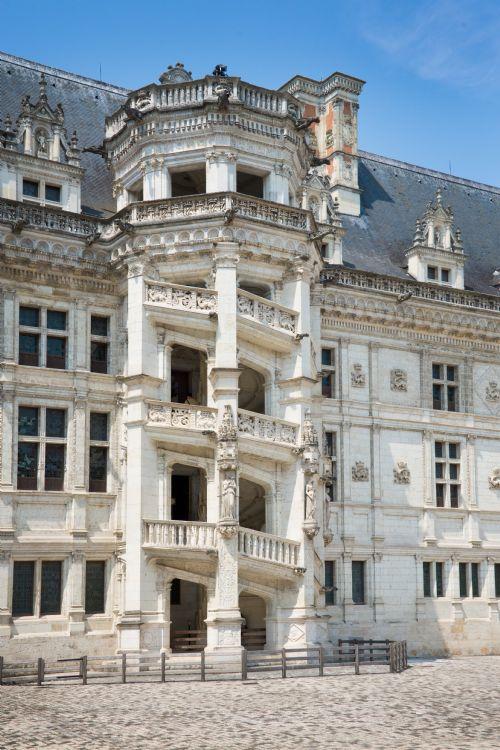 Escalier du château de Blois