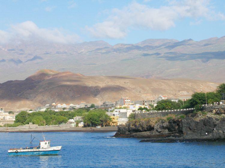 Porto Novo sur l'île de Santo Antao