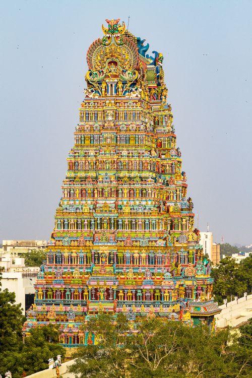 Temple de Minakshi à Madurai