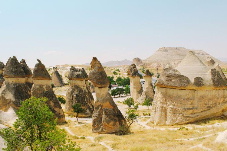 Vallée de Pasabag en Cappadoce