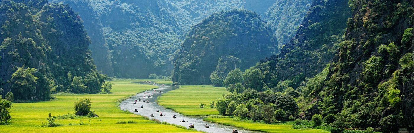 Paysage de la région de Ninh Binh