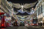 Londres sous les lumières de Noël