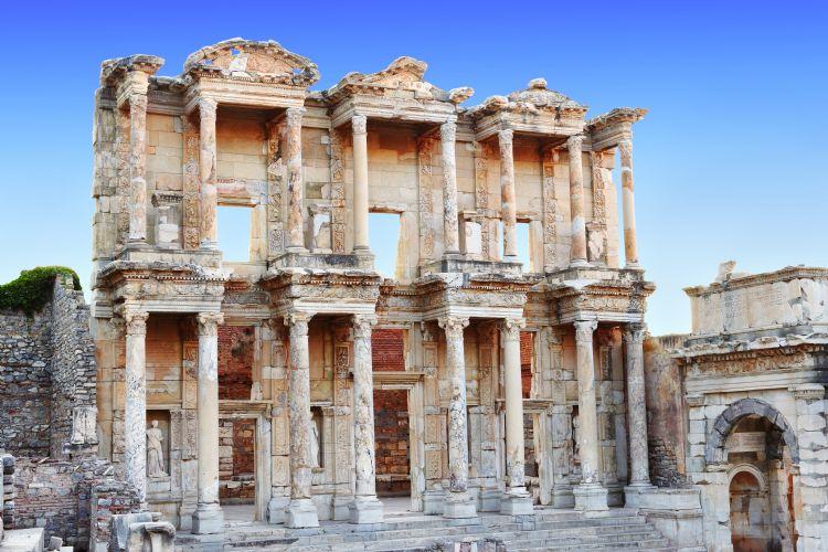 Bibliothèque Celsus à Ephèse