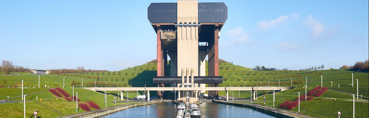 Ascenseur à bateau de Strepy-Thieu