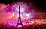 Le feu d'Artifice du 14 Juillet à Paris